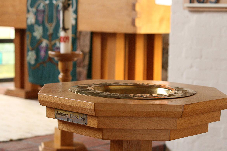 Taufschale der St.-Marien-Kapelle in Schönberg