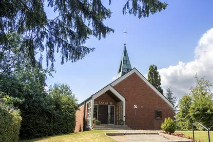 Außenansicht der St.-Marien-Kapelle in Schönberg